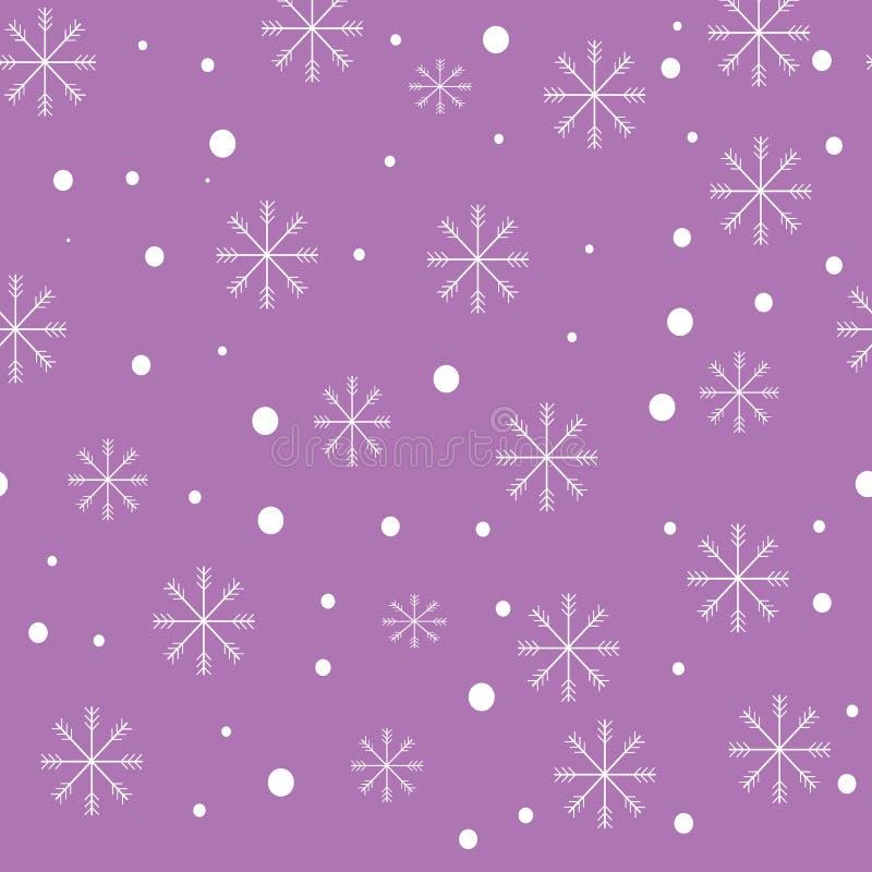 Snowflake illustration stock