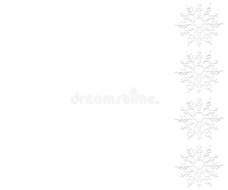 Snowflake ornament winter snow background white. Snowflake ornament winter decemeber snow object background christmas new year repetition card white decorative stock illustration