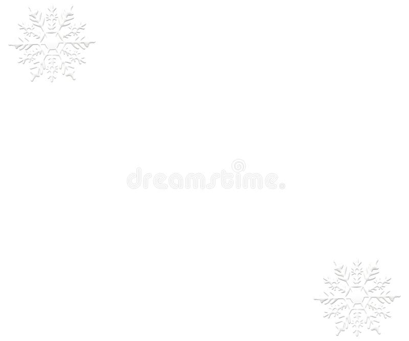 Snowflake ornament winter snow pattern background white. Snowflake ornament winter decemeber snow object background red christmas new year repetition card white stock illustration