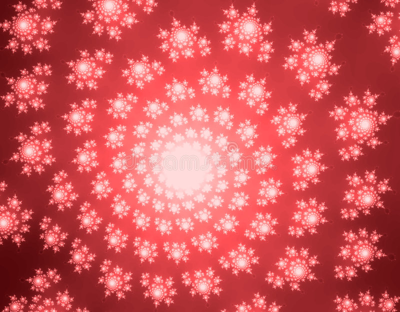 Snowflake pattern royalty free illustration