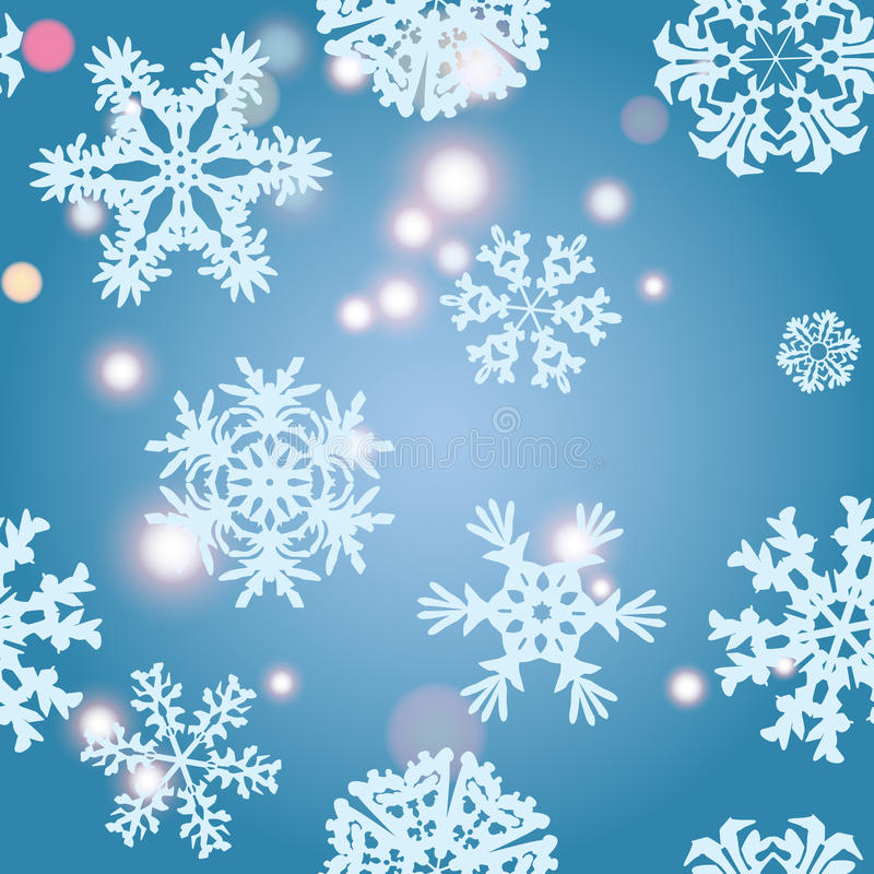 Snowflake Pattern. Snowflake texture. Christmas and new year concept royalty free stock image