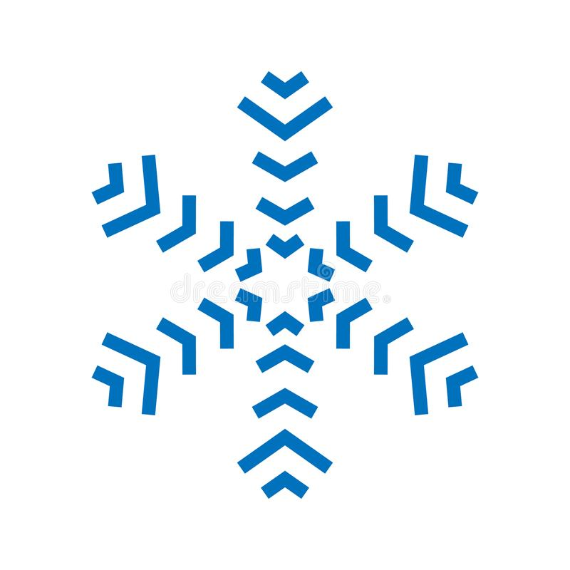 download snowflake sign blue snowflake icon isolated on white background snow flake silhouette