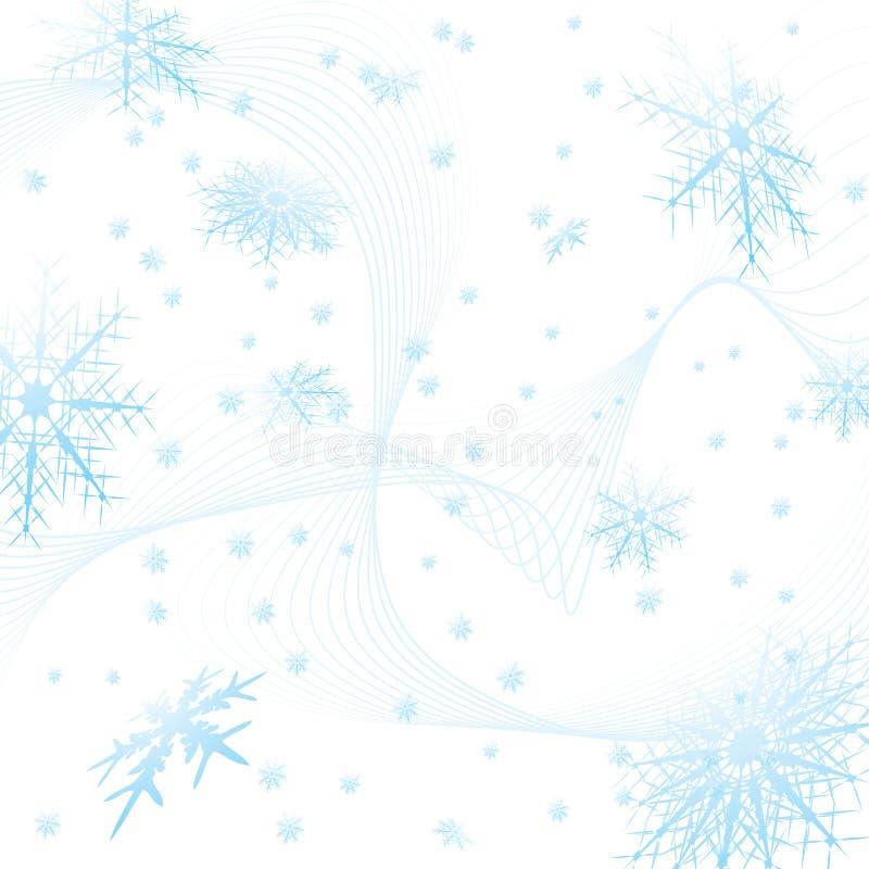 Snowflake square royalty free illustration