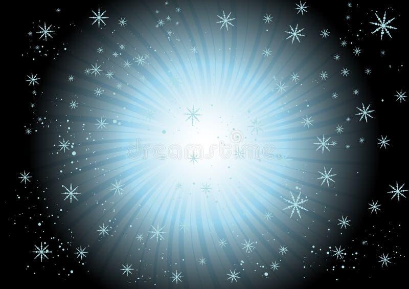 Snowflake swirl royalty free stock photo