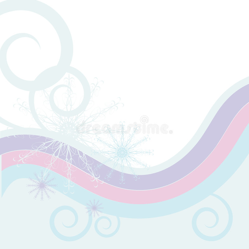 Download Snowflake, Waves And Spirals Royalty Free Stock Photo - Image: 7102395
