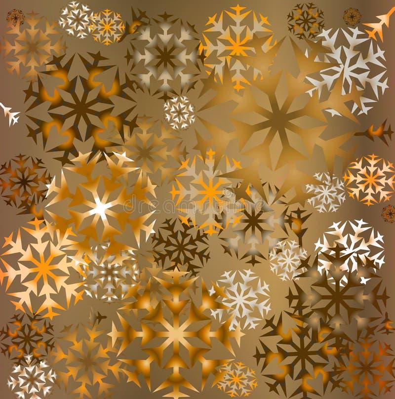 Download Snowflakes ανασκόπησης απεικόνιση αποθεμάτων. εικονογραφία από παρόν - 1532667