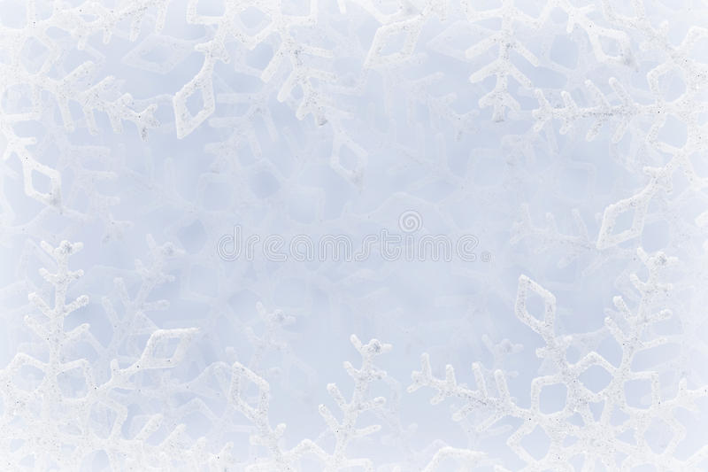 Snowflakes ανασκόπηση στοκ εικόνες με δικαίωμα ελεύθερης χρήσης