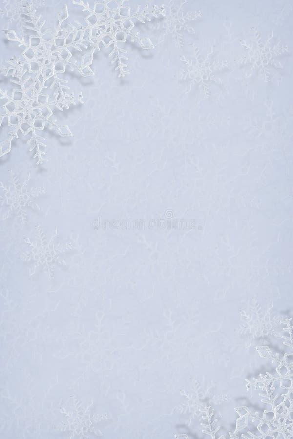 Snowflakes ανασκόπηση στοκ φωτογραφία με δικαίωμα ελεύθερης χρήσης