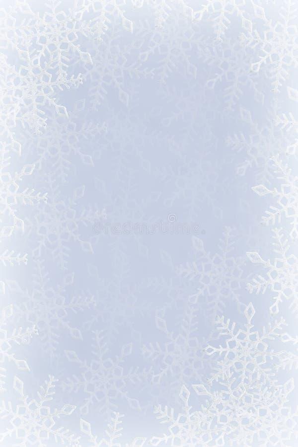 Snowflakes ανασκόπηση στοκ φωτογραφίες