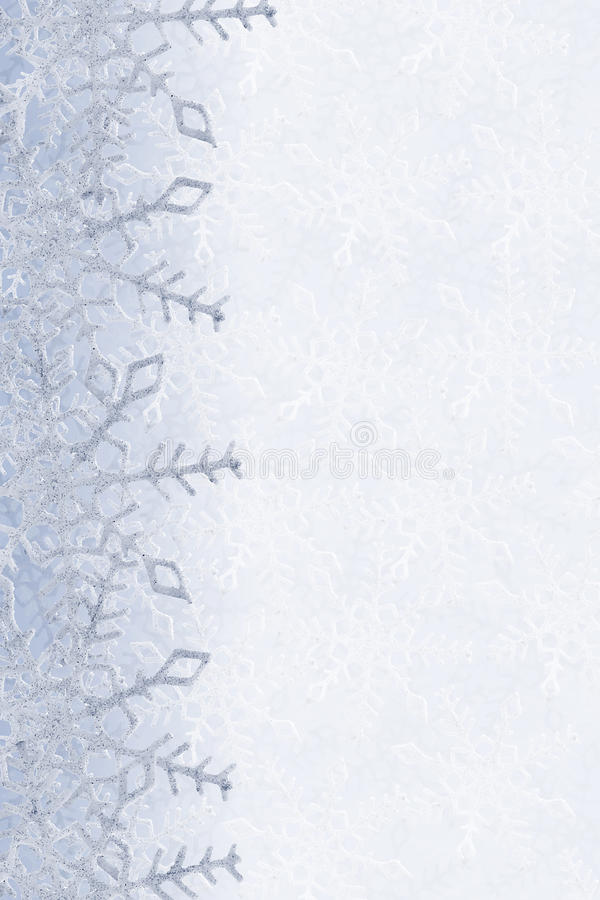 Snowflakes ανασκόπηση στοκ εικόνες