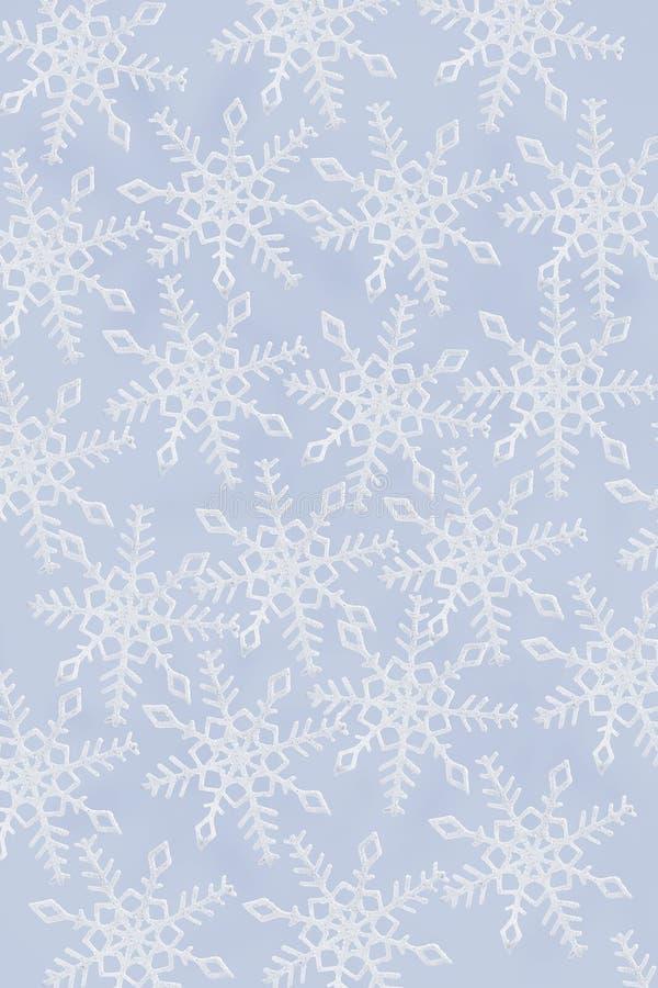 Snowflakes ανασκόπηση στοκ εικόνα