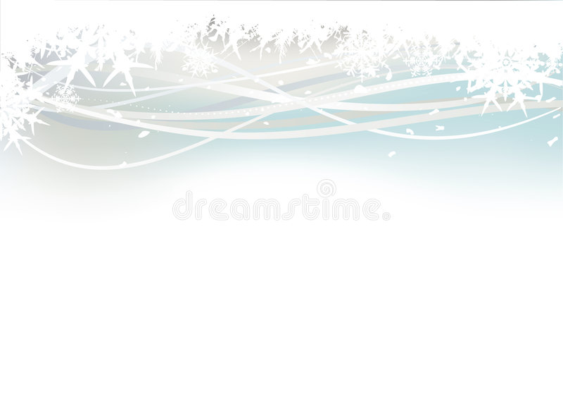 snowflakes κρυστάλλου ανασκόπησ& ελεύθερη απεικόνιση δικαιώματος