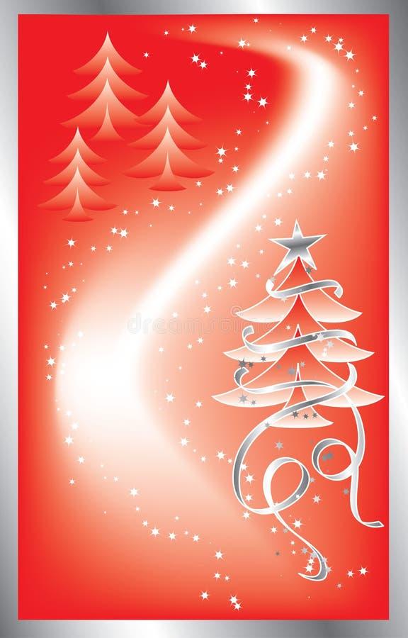 snowflakes Χριστουγέννων ανασκόπη&si διανυσματική απεικόνιση