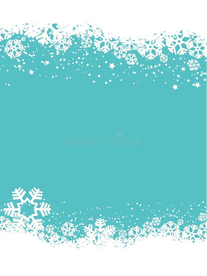 Snowflakes Χριστουγέννων διανυσματική απεικόνιση