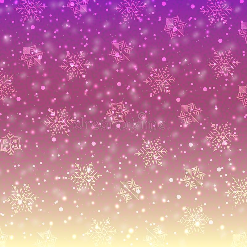 Snowflakes-03 royalty illustrazione gratis