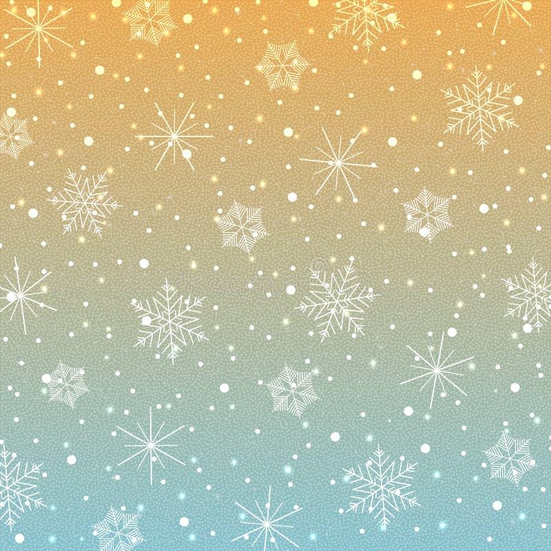 Snowflakes-07 libre illustration