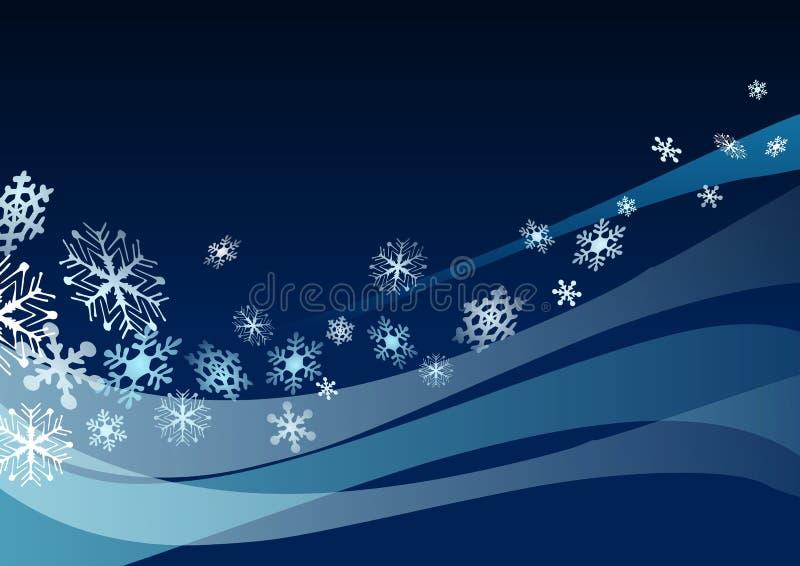 snowflakes stock illustrationer