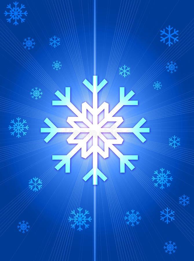 Download Snowflakes απεικόνιση αποθεμάτων. εικονογραφία από κρύο - 1547857