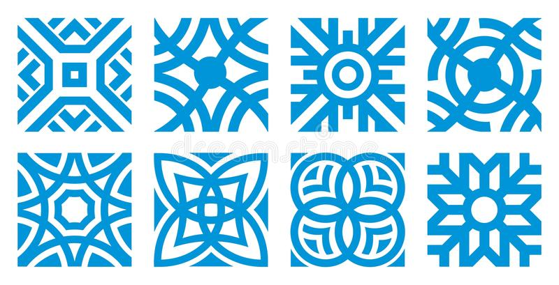 Download Snowflakes stock vector. Image of snowflake, year, cold - 21347406