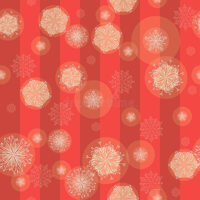 Snowflakes royalty free illustration