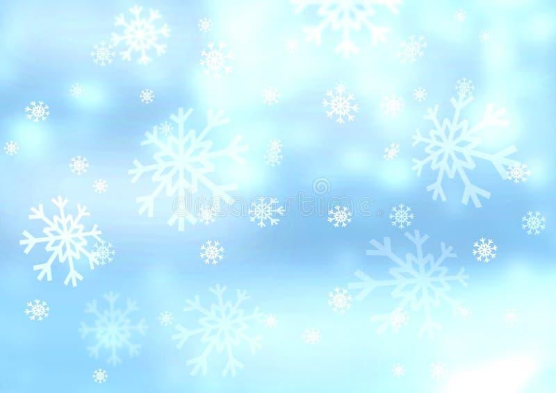 Snowflakes Στοκ εικόνες με δικαίωμα ελεύθερης χρήσης