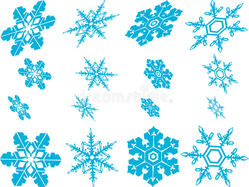 Download Snowflakes stock vector. Image of flake, flakes, snowflakes - 6585948