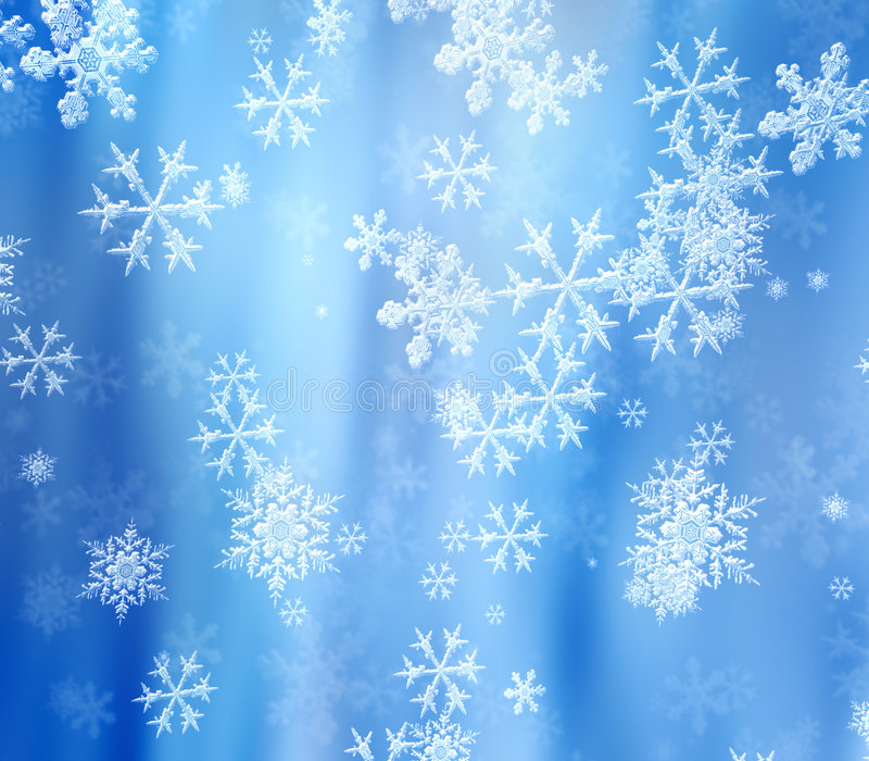 Snowflakes stock images