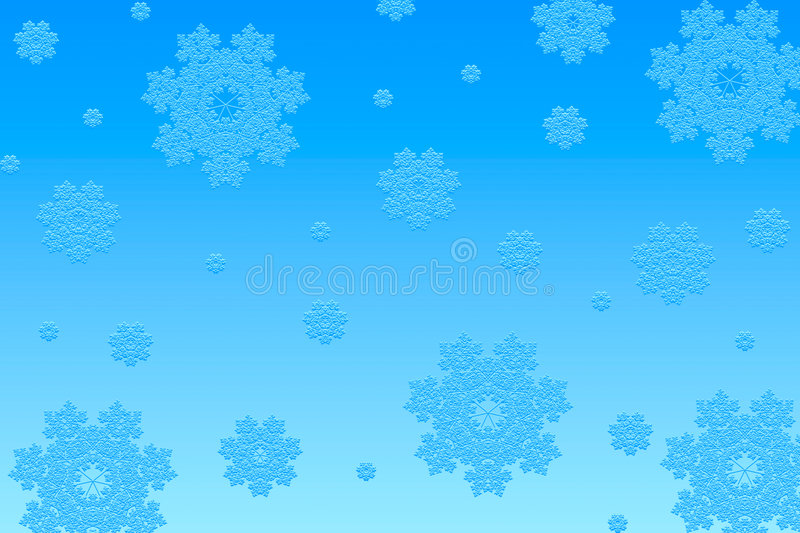 Download Snowflakes background stock illustration. Image of festive - 1423527