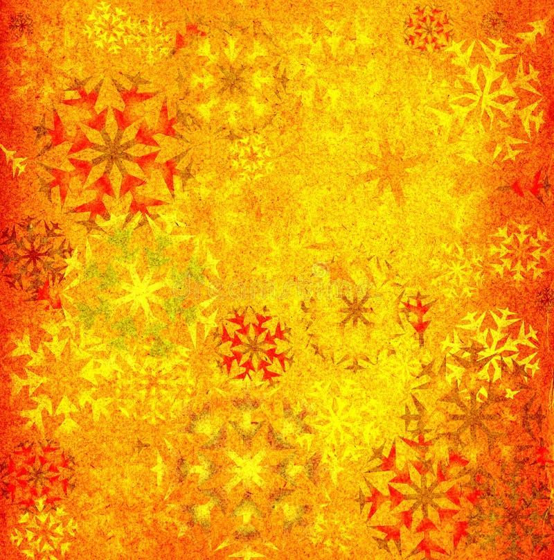 Snowflakes background stock illustration