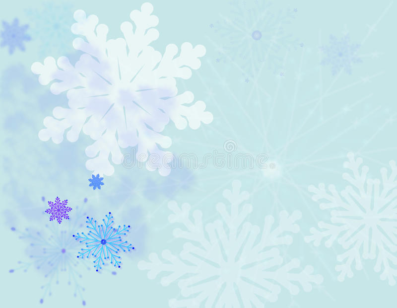 Download Snowflakes  background stock vector. Illustration of shape - 22858451