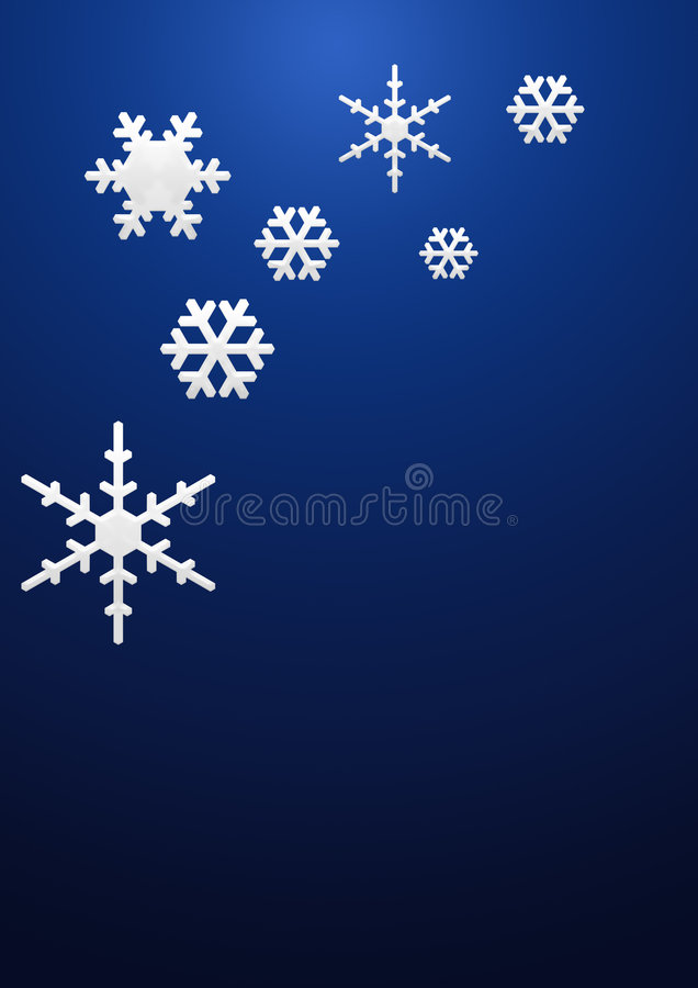 Download Snowflakes background stock photo. Image of cards, rotation - 6106422