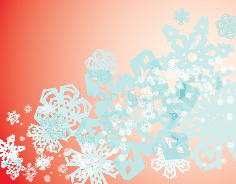 Download Snowflakes background stock vector. Image of blue, snow - 7158388
