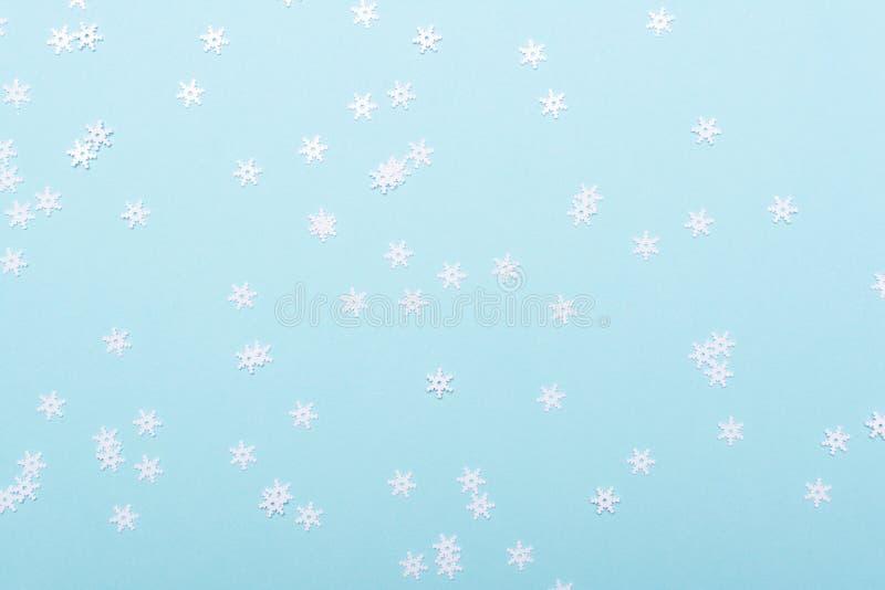 Snowflakes Conetti de Noël images stock