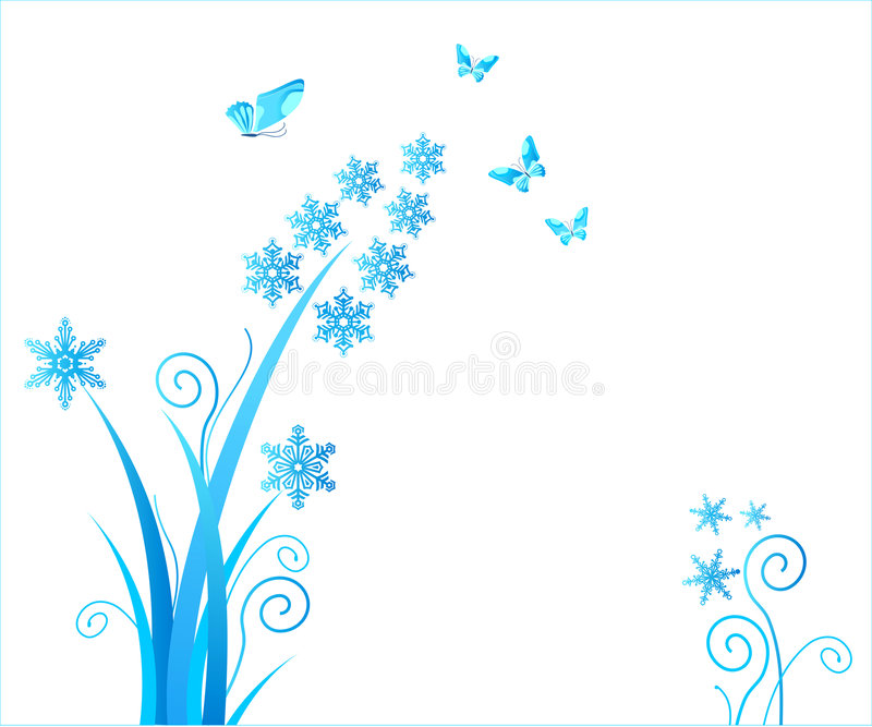 Download Snowflakes Flower / Christmas Stock Vector - Image: 3153080