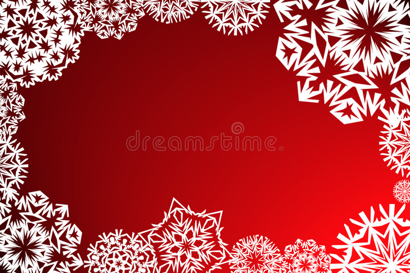 Download Snowflakes Frame Stock Images - Image: 1413914