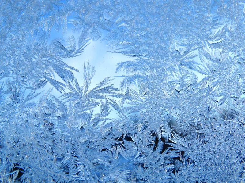 Snowflakes pattern as winter texture background royalty free stock photo