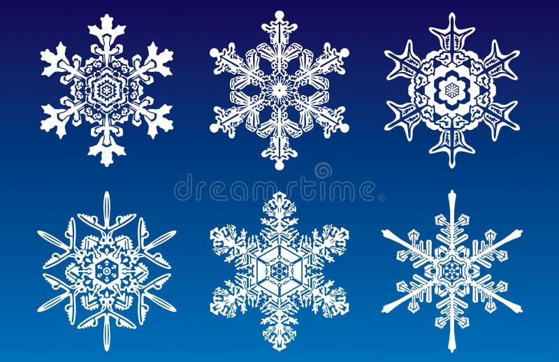 Snowflakes.jpg royalty-vrije illustratie