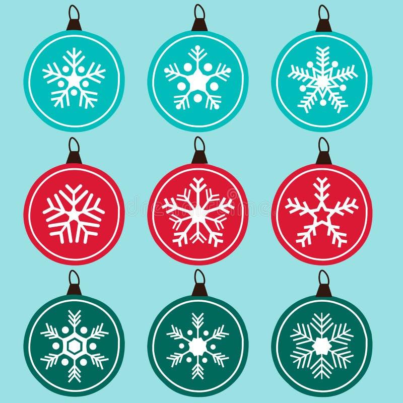 Snowflakes ornament royalty free stock photos