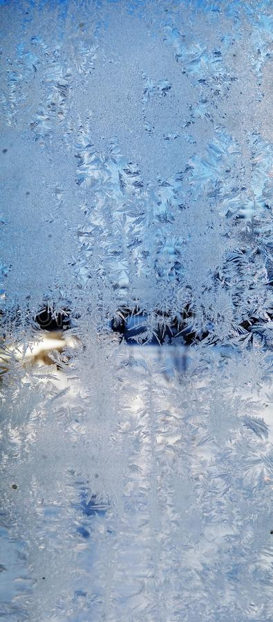 Snowflakes pattern as winter texture background stock photo