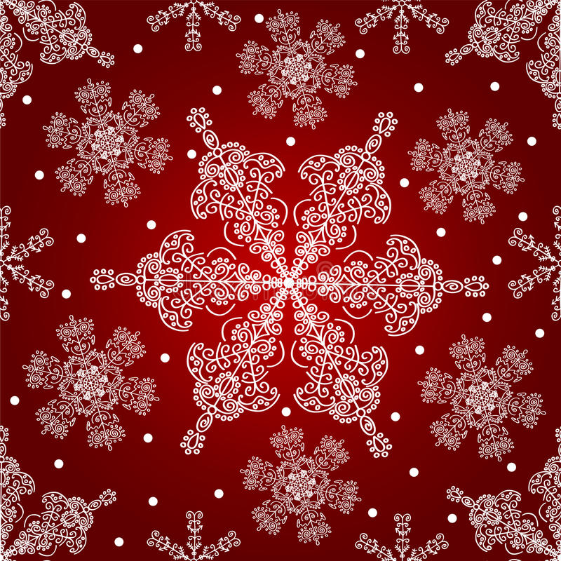 Download Snowflakes Seamless Pattern. Stock Vector - Image: 21754853