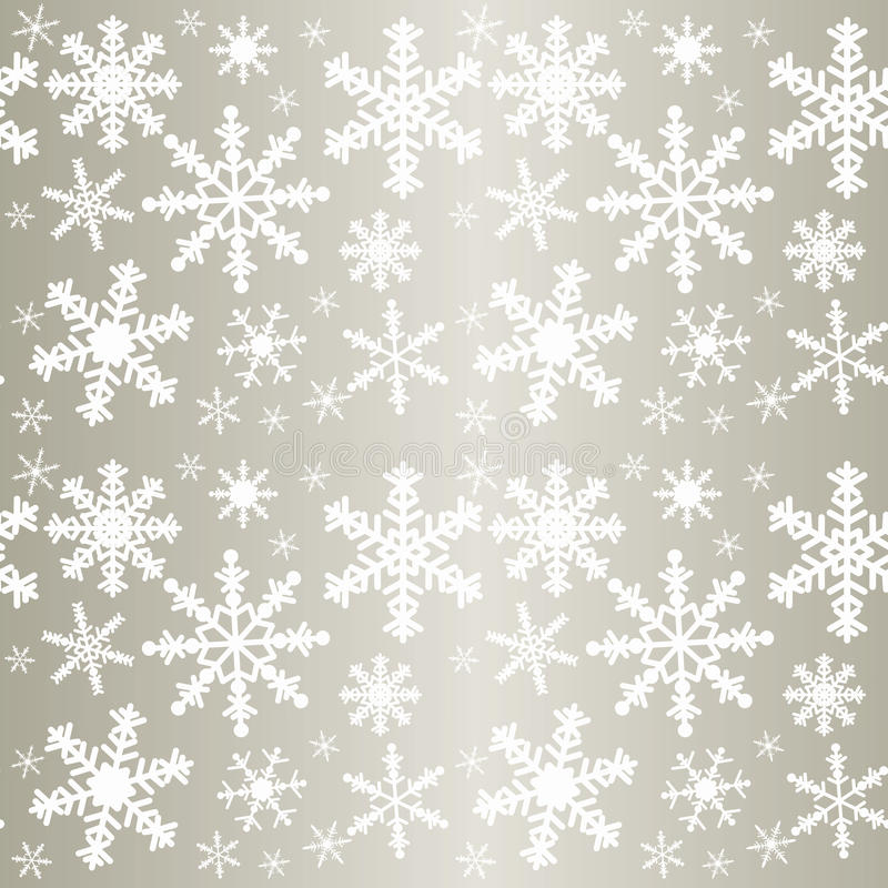 Download Snowflakes - Seamless Pattern. Stock Vector - Illustration of background, repeating: 33028693