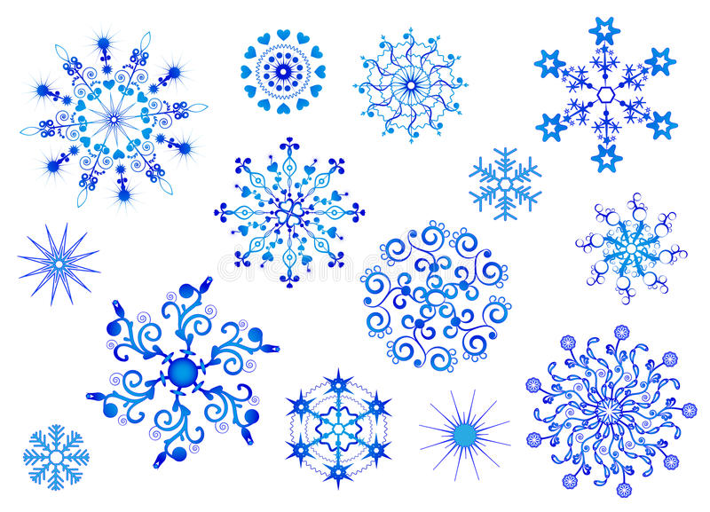 Snowflakes. Vector. Winter collection. vector illustration