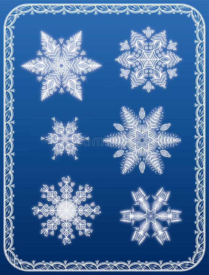 Download Snowflakes Stock Image - Image: 34990111