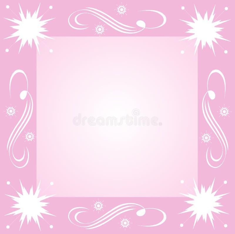 snowflakesswirls vektor illustrationer