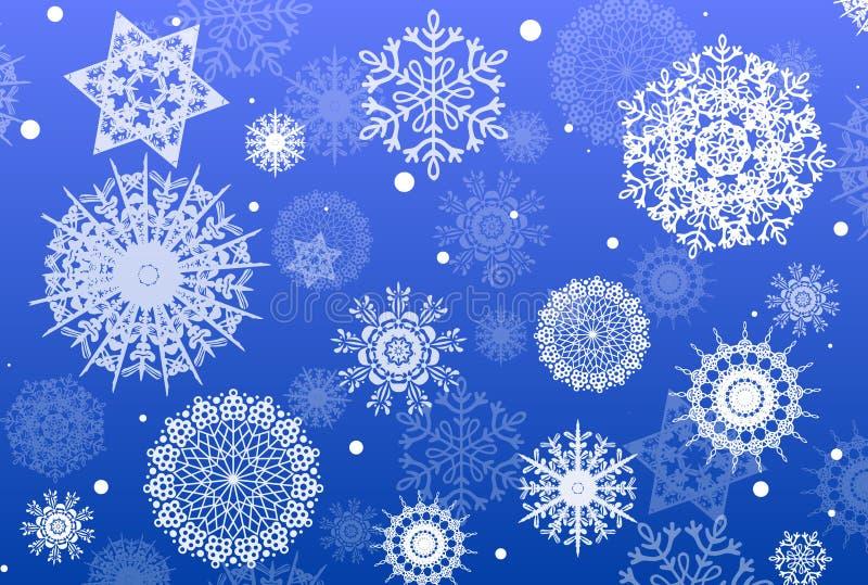 snowflakesvektor royaltyfri fotografi