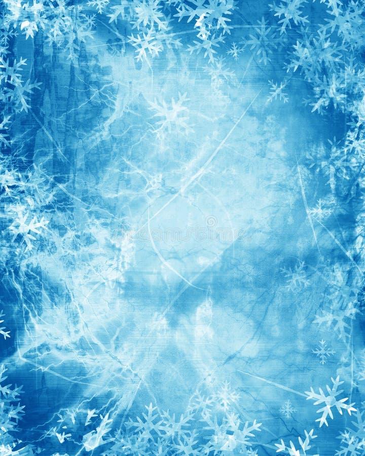 Snowflingor royaltyfri illustrationer