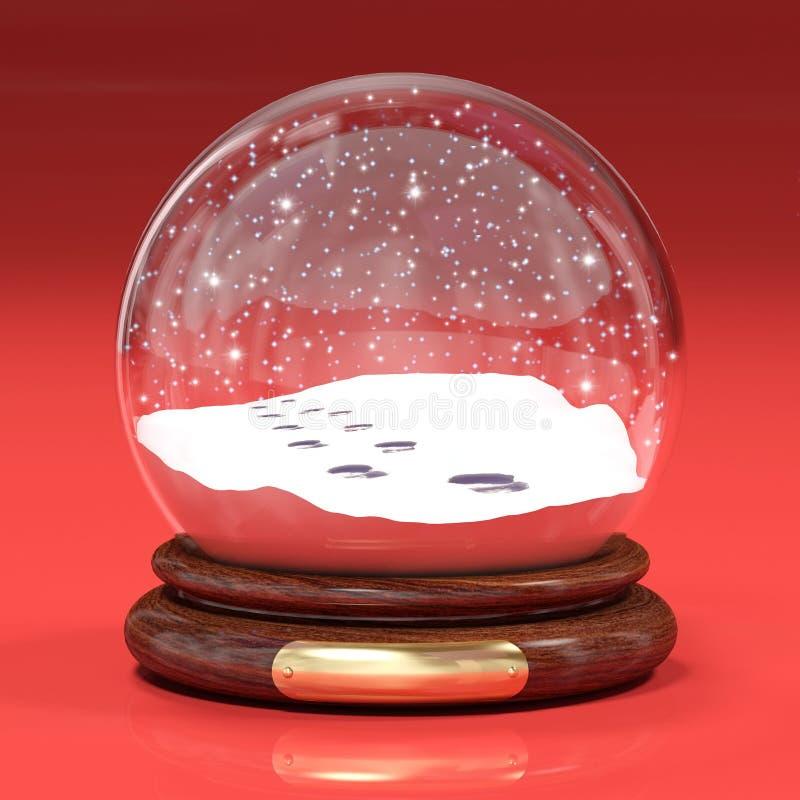Snowglobe vector illustratie