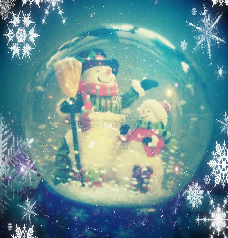 Snowglobe royalty free stock photos