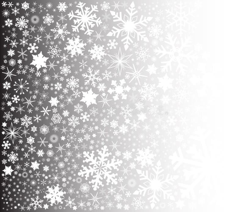 snowing royalty-vrije illustratie