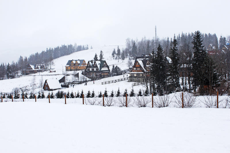 Download Snowing In Tatry Mountains. Stock Photography - Image: 22566352